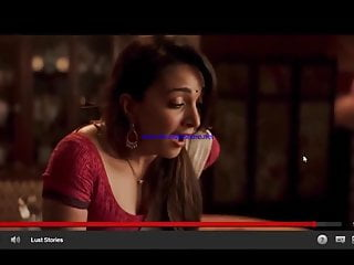 Desi Wife Playing with Vibrator in home .Lust Stories 2018