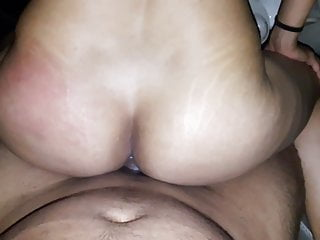 Indian ex riding my cock in her car