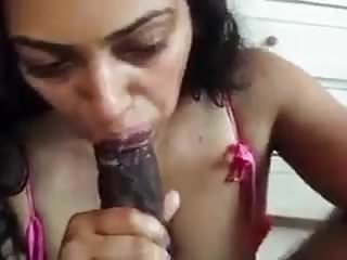 NRI Sucks Huge Cock