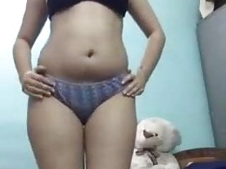 Indian Teen girl Stripshow