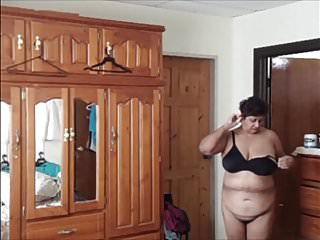 My Hot Indian Stepmom with Big Boobs Drying After a Shower