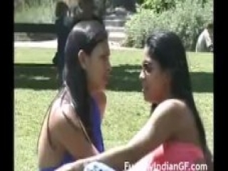 Indian Lesbian Girls Kissing In Public