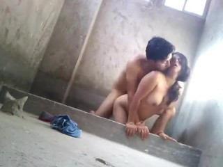 Indian college teenager Fucking outdoor