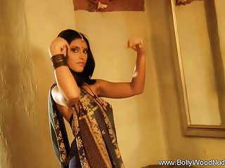 Lovely Indian Beauty Undressed To Nude