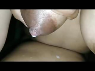 Indian wife's lactation sex