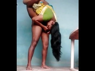 Voluptuous Mallu Housewife enjoys Standing69 with Neighbour