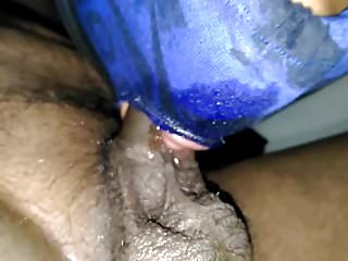 Indian homemade wife deepthroat ring gad chock
