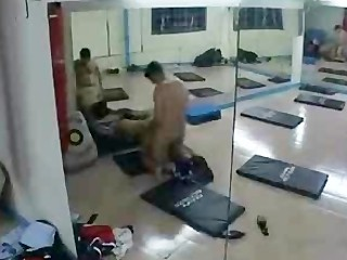 Paki Indian Muslim Girl gym romp with Paki Trainer in Paki Porno