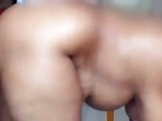 Bengali aunty hard moan while boobs bouncing