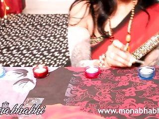 indian mona bhabhi celebrating diwali