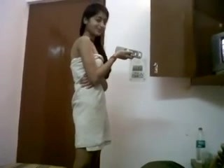 INDIAN – Cute Teen with Bf in Hostel