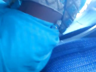 Desi boob show in Hyderabad bus