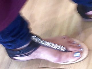 candid indian toes